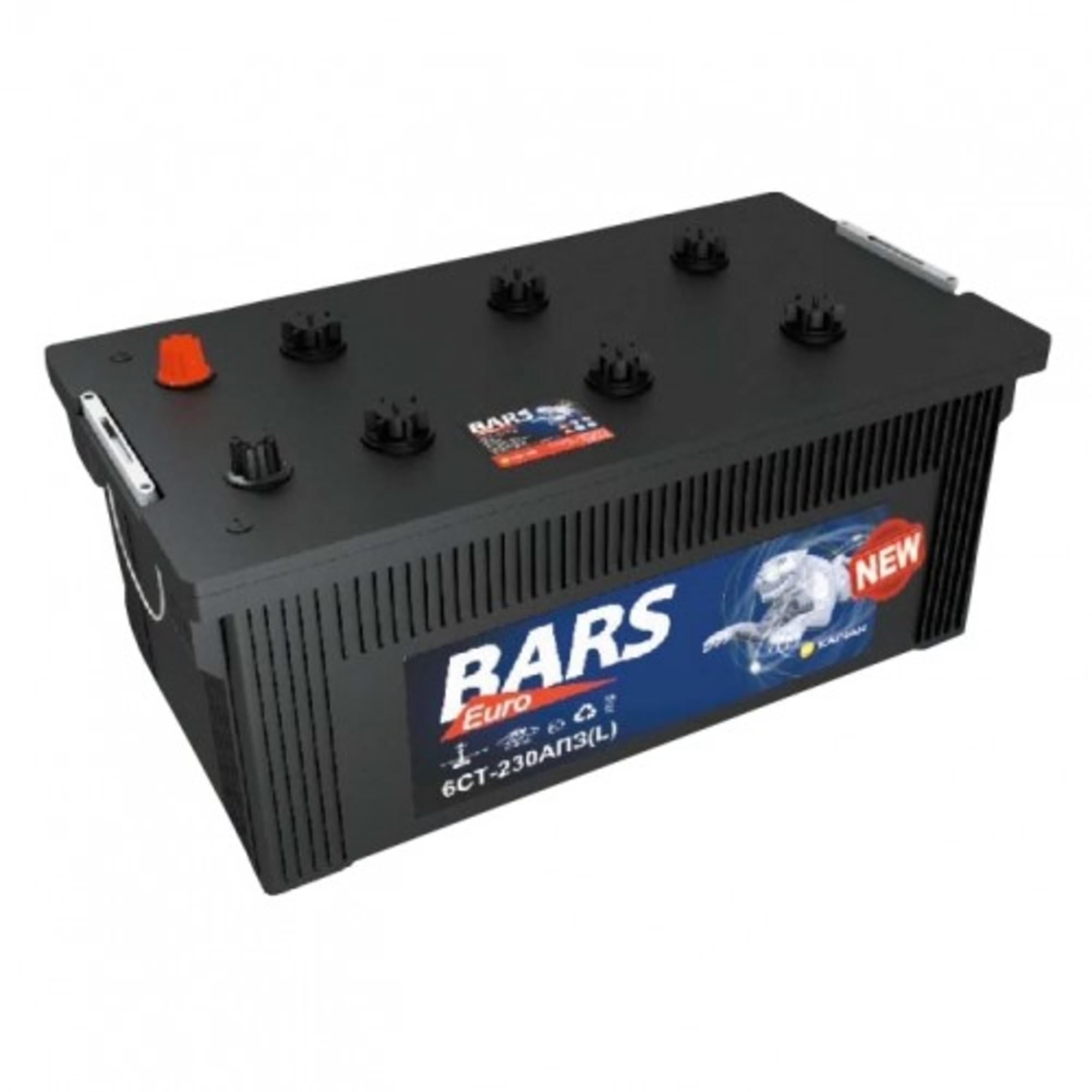 Аккумулятор 230 - 6 СТ BARS Evro о.п. (АПЗ)