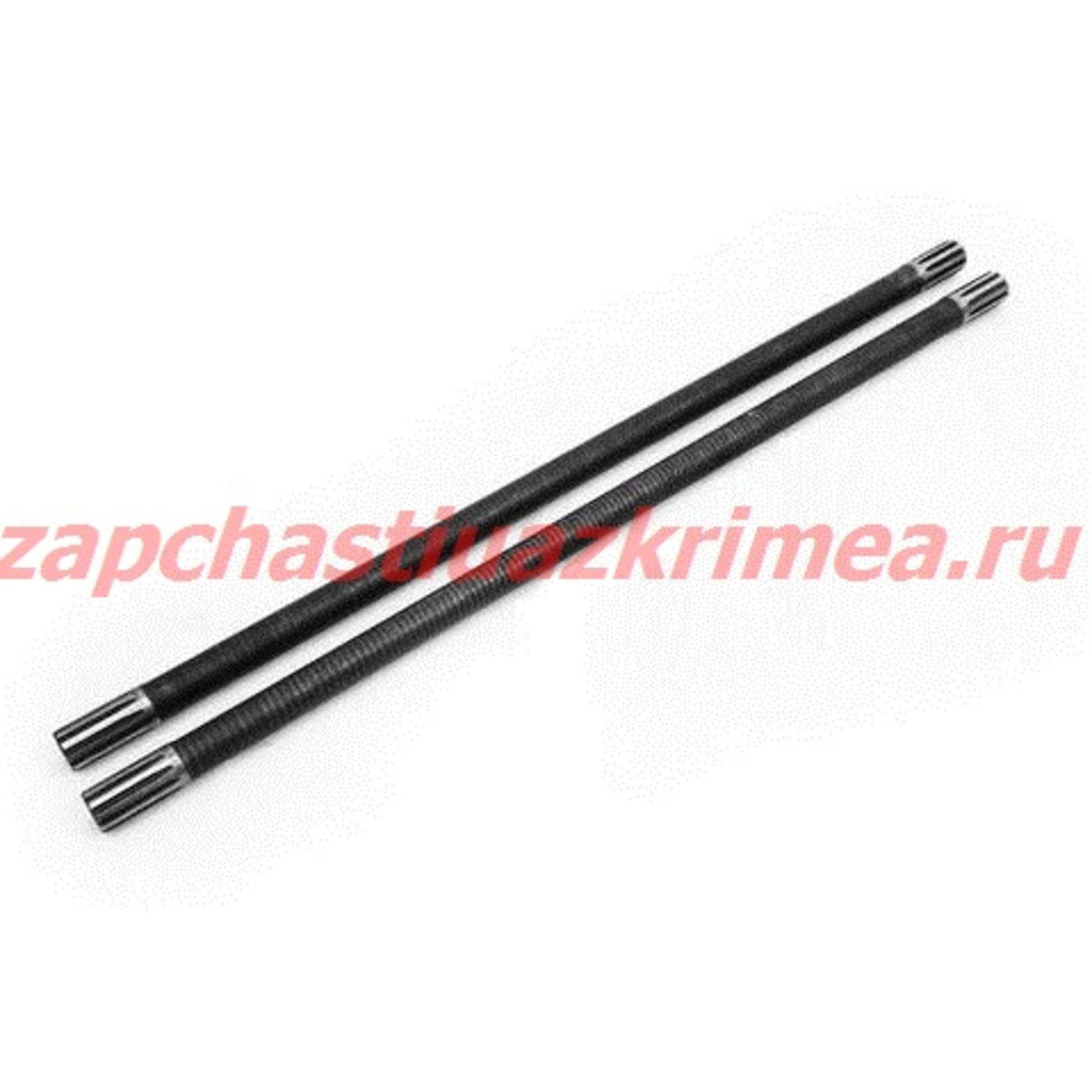 Комплект полуосей усиленных задний мост УАЗ 850/850 (Бронто)