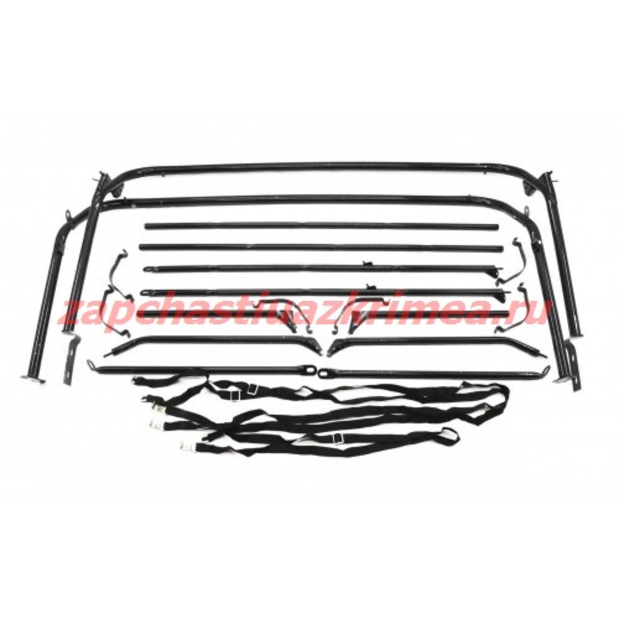Дуги тента УАЗ 31512 (без тента)