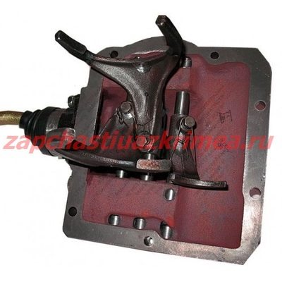 Механизм переключения КПП в сб. УАЗ-469 (4-х синхронный) нового образца