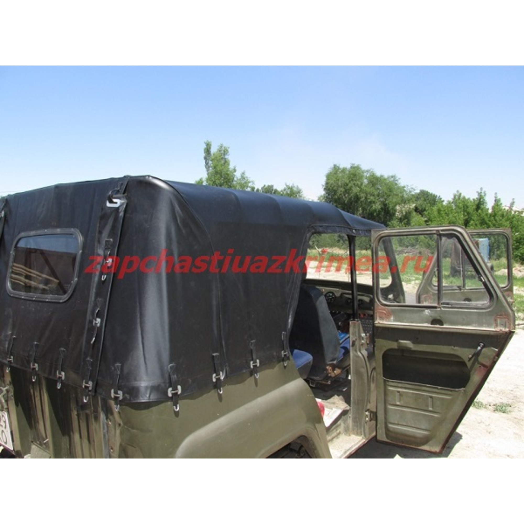 Тент УАЗ-469 (черный) 3151-6002020-95
