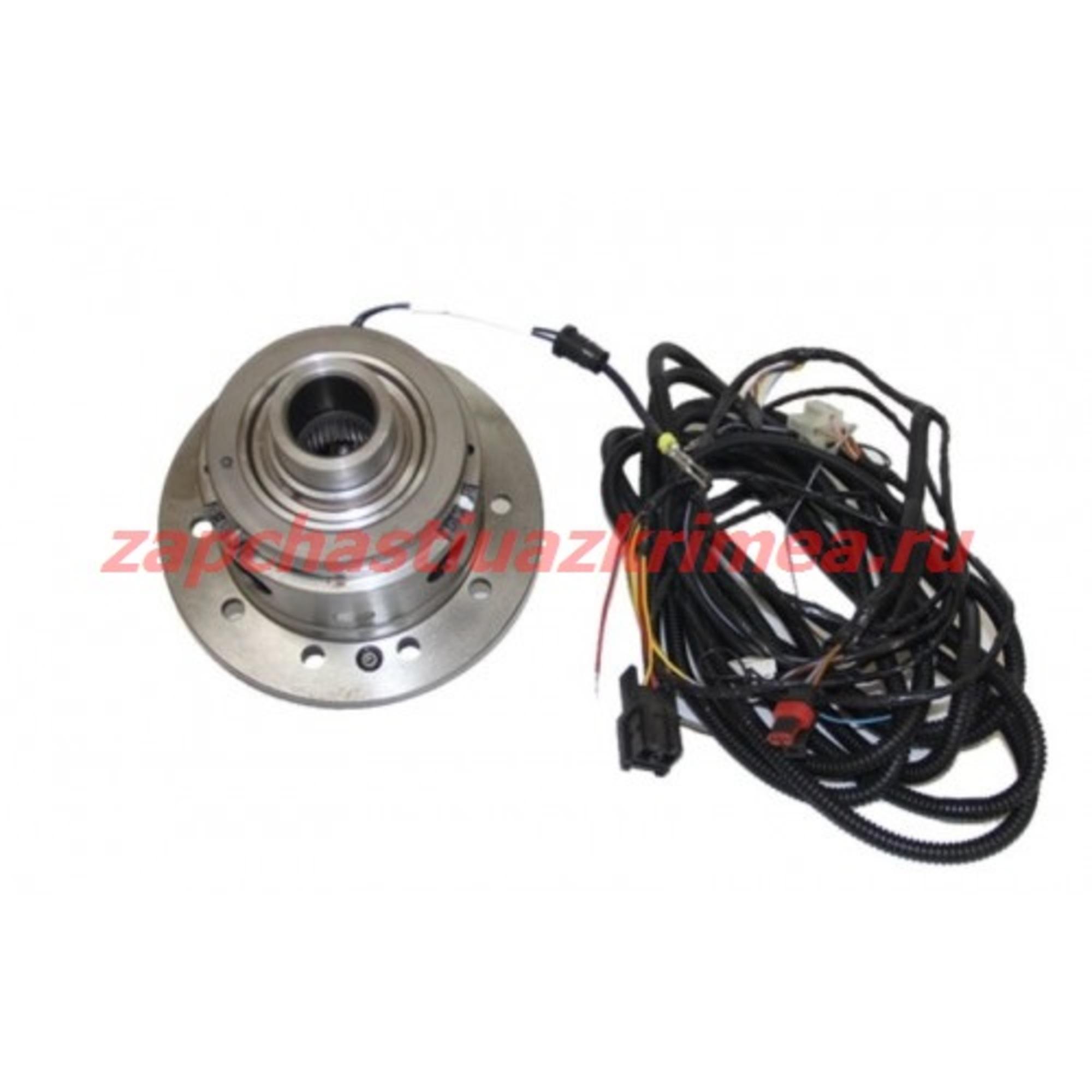Дифференциал с электроблокировкой УАЗ под стандартные полуоси и ШРУСы (EATON) с проводкой