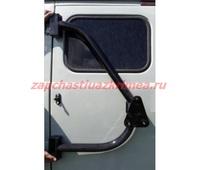 Кронштейн держатель запаски синхронный на левую заднюю дверь УАЗ 452