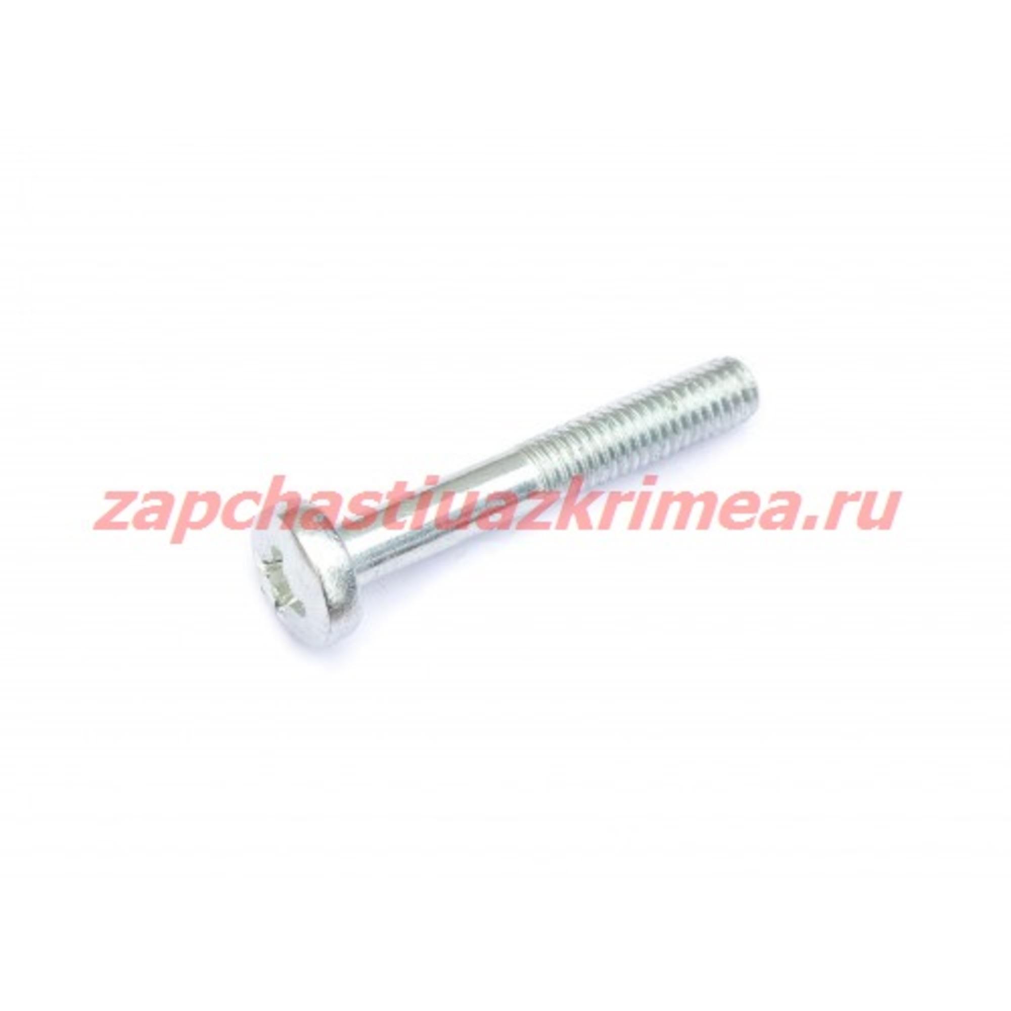 Винт М6х40 крепления колпака колеса УАЗ (завод)
