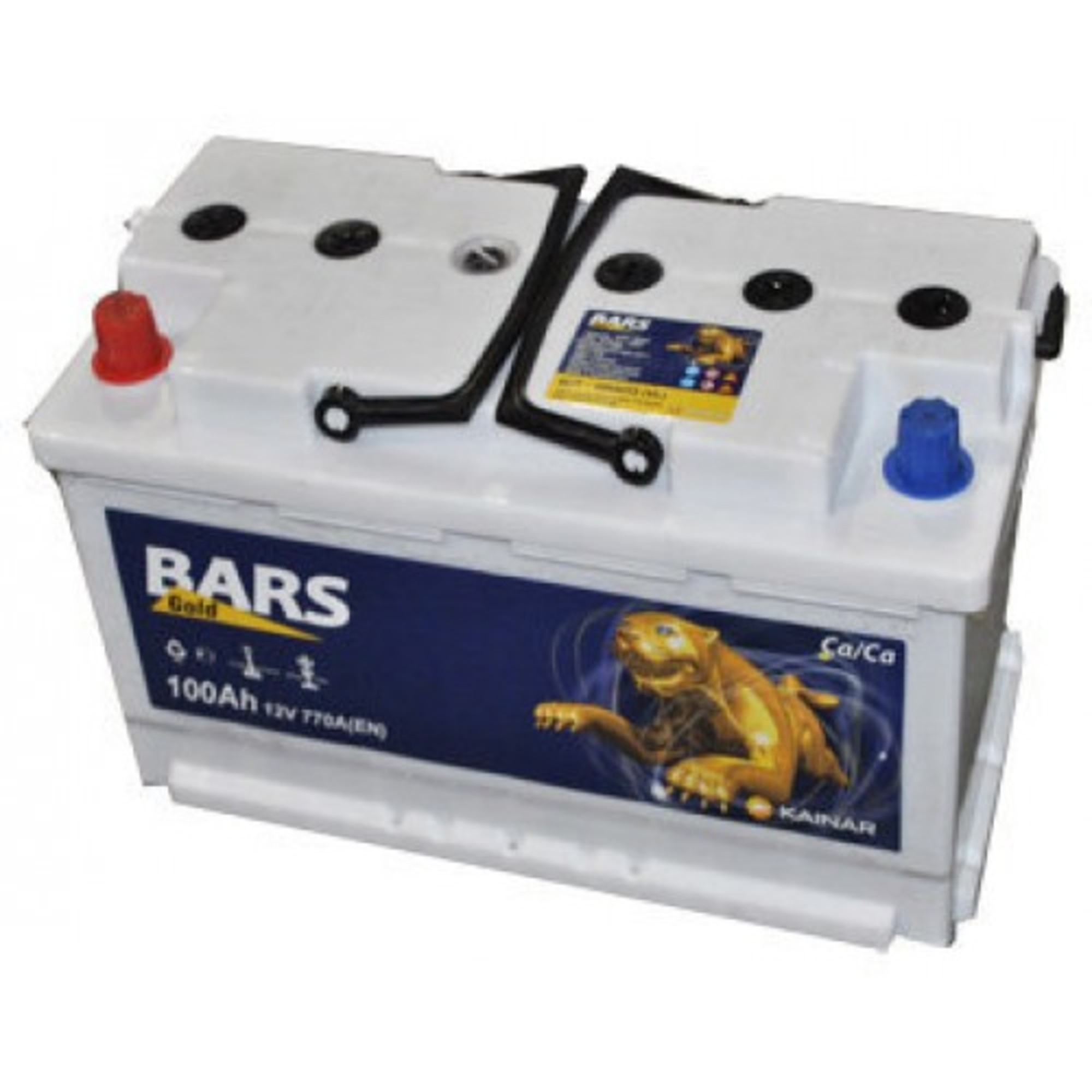 Аккумулятор 100 - 6 СТ BARS Gold п.п. (АПЗ)