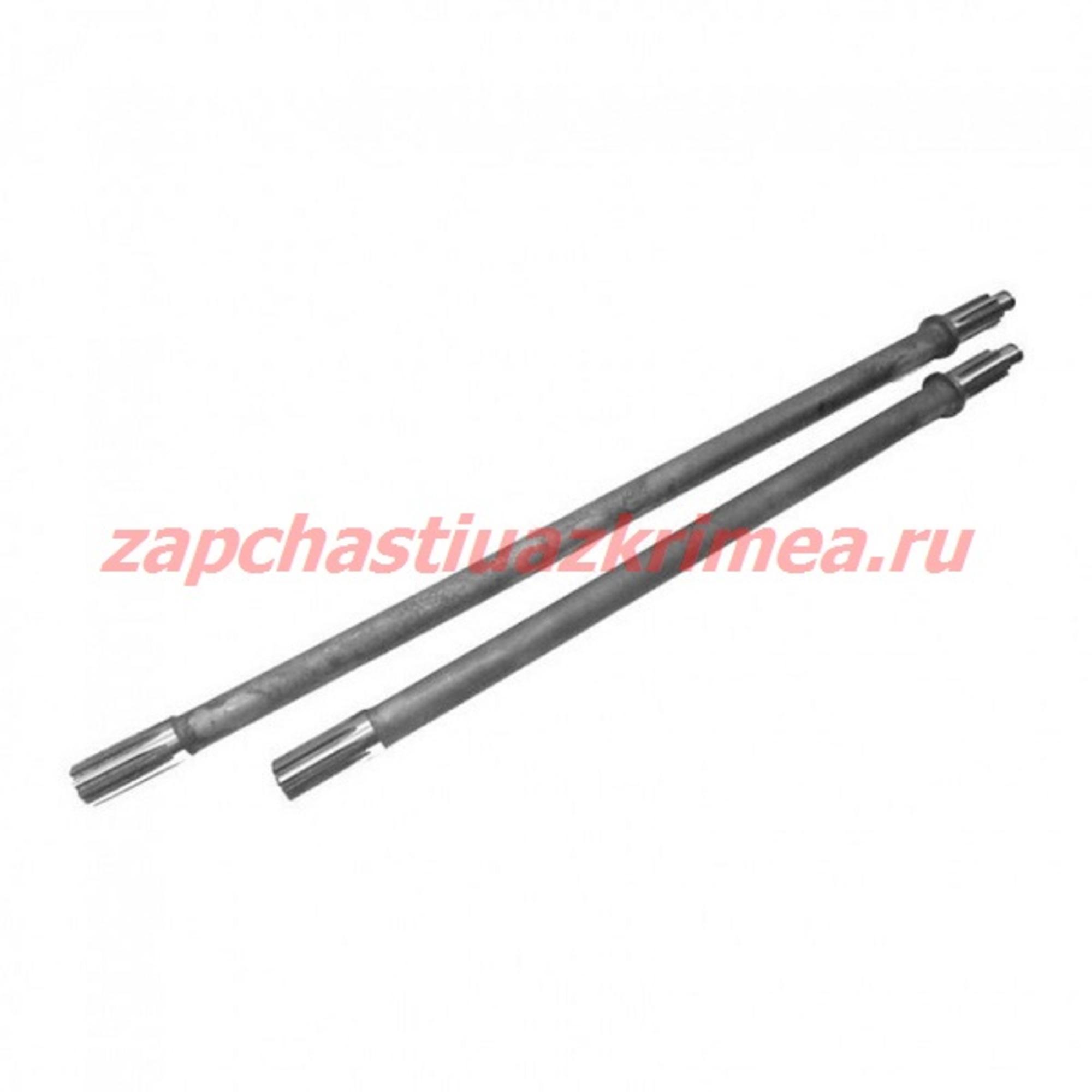 Комплект полуосей усиленных задний редукторный мост УАЗ (645/645) ИЖ-ТЕХНО