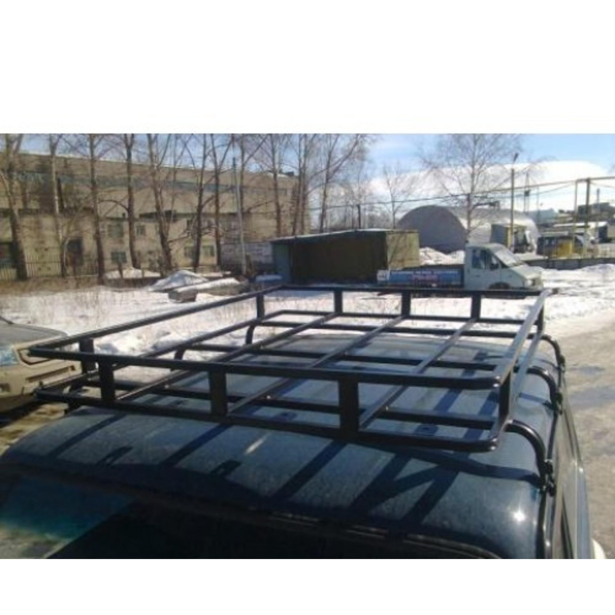 Багажник на НИВУ 2131 Корзинка 6 опор 2 м