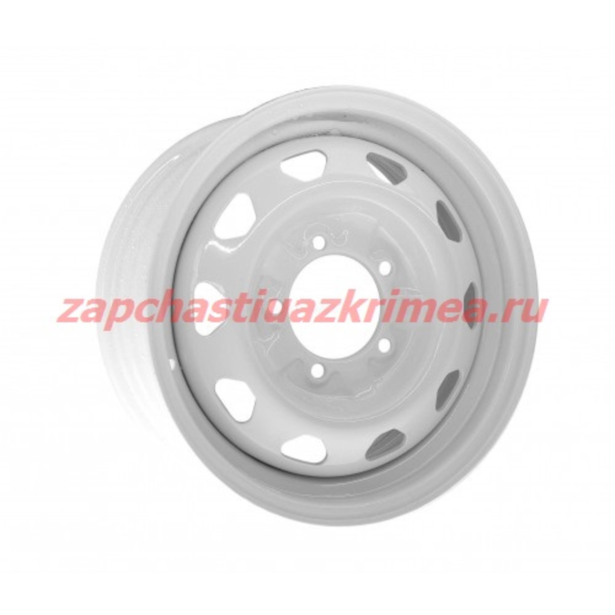 Диск колеса R16 (белый) Кременчуг 3160-3101015