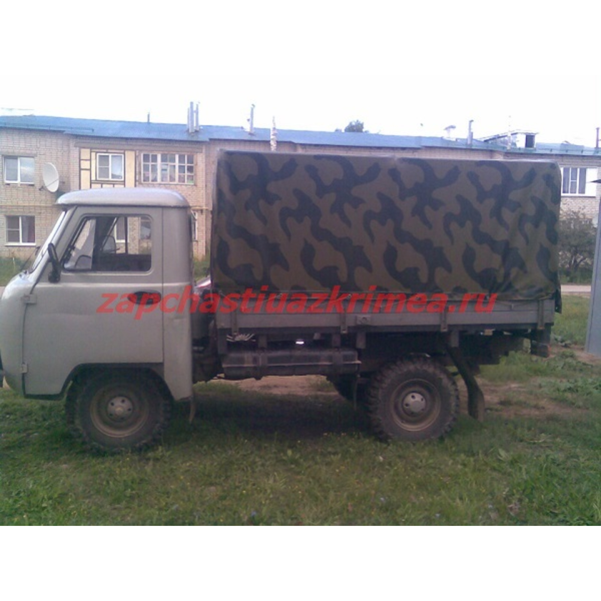 Тент УАЗ 3303 н/о КАМУФЛЯЖ