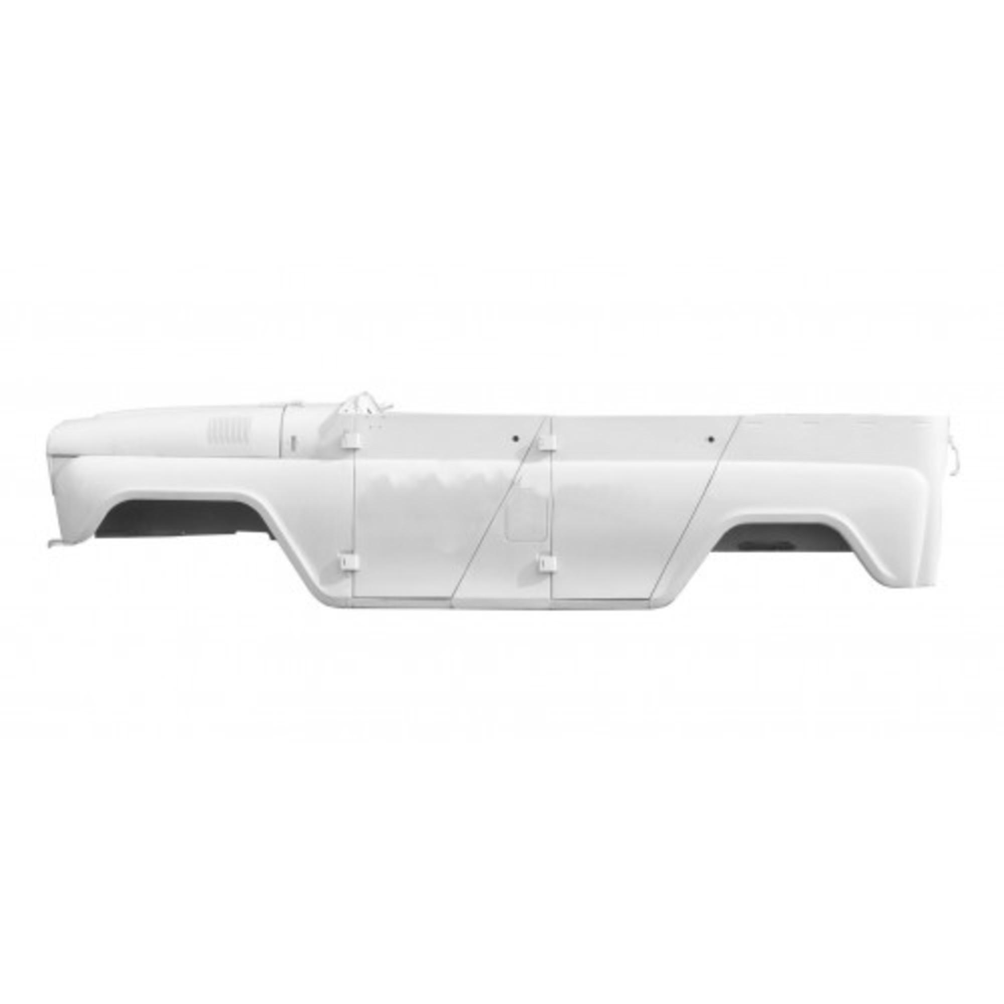 Каркас кузова УАЗ-31514 (легковой под крышу) белый арктика 31514-5000014-30