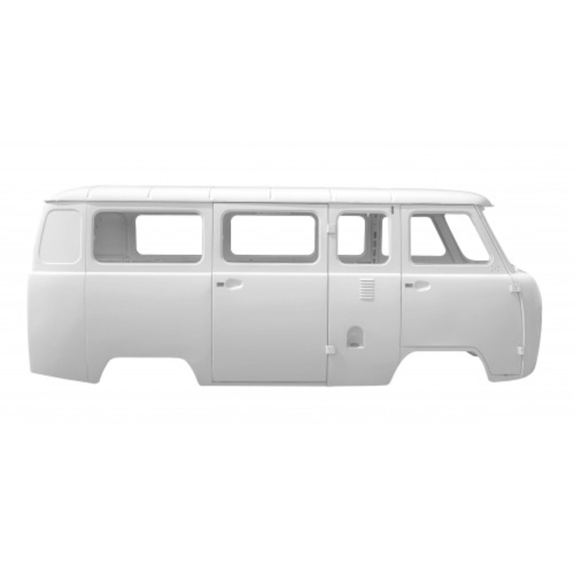 Каркас кузова УАЗ 2206 микроавтобус карбюратор белая ночь