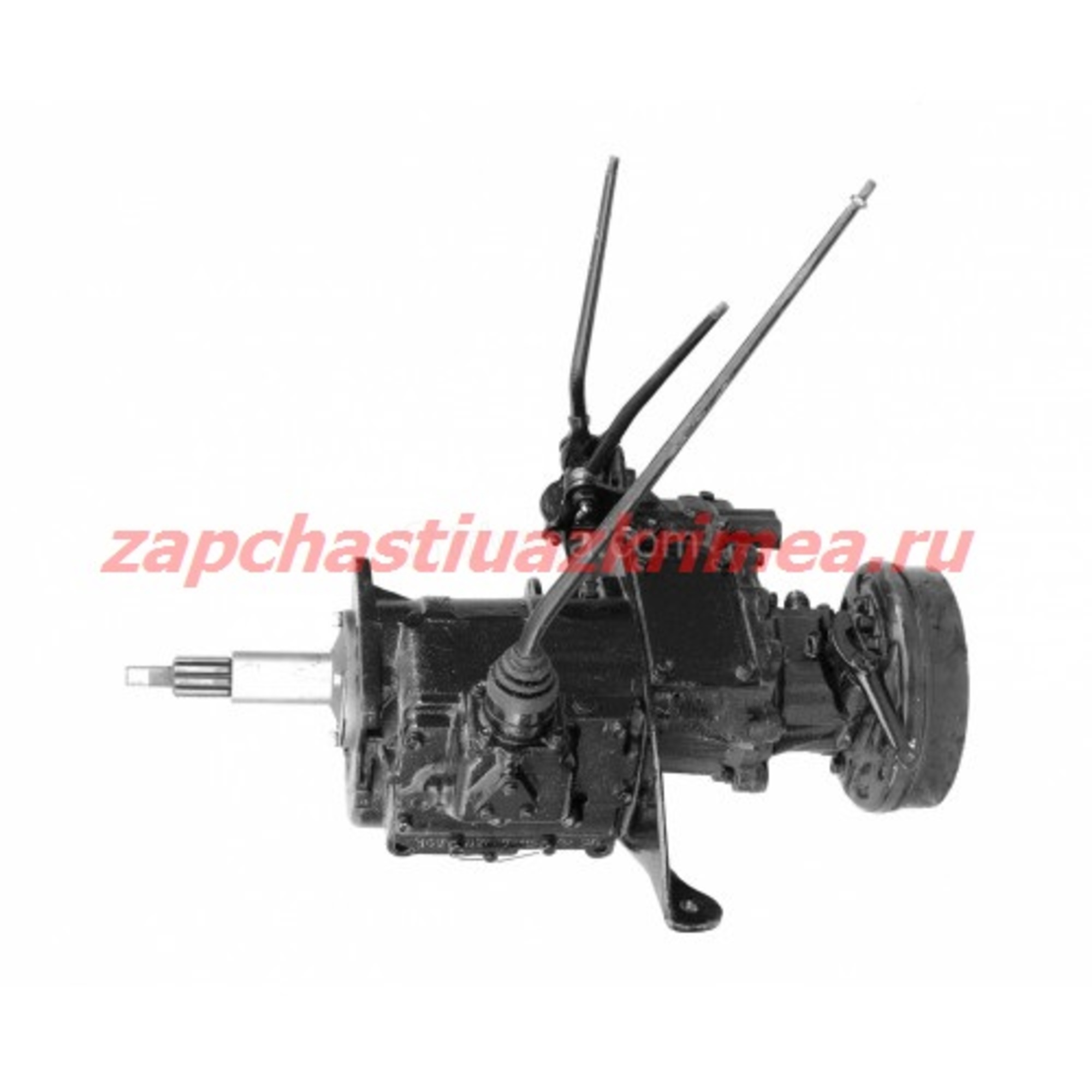 Агрегат в сб. УАЗ 469 4-х синх.КПП (тонкий вал) 3151-20-1700005-95