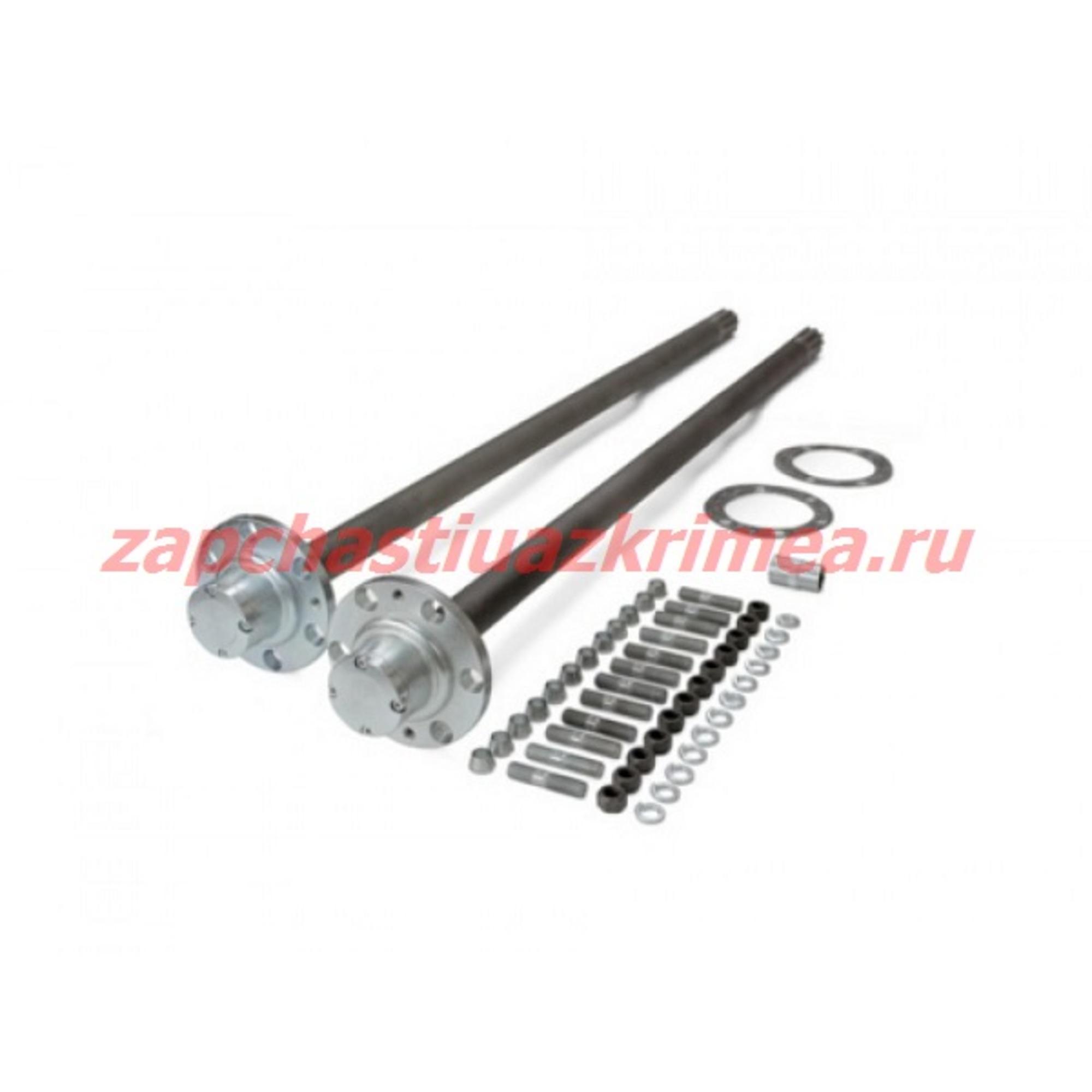 Комплект полуосей усиленных задний мост Спайсер УАЗ Патриот 875/875 Иж-Техно