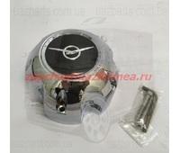 Колпак колеса на литой диск УАЗ Сахара (хромированный пластик) глухой